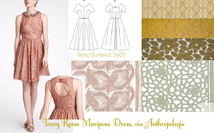 Anthropologie Mariposa Dress