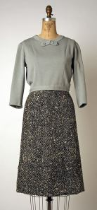 Chanel Blouse Gray Met 1953-59