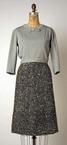 Chanel Blouse Gray Met 1953-59
