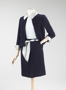 Navy Chanel Suit Met