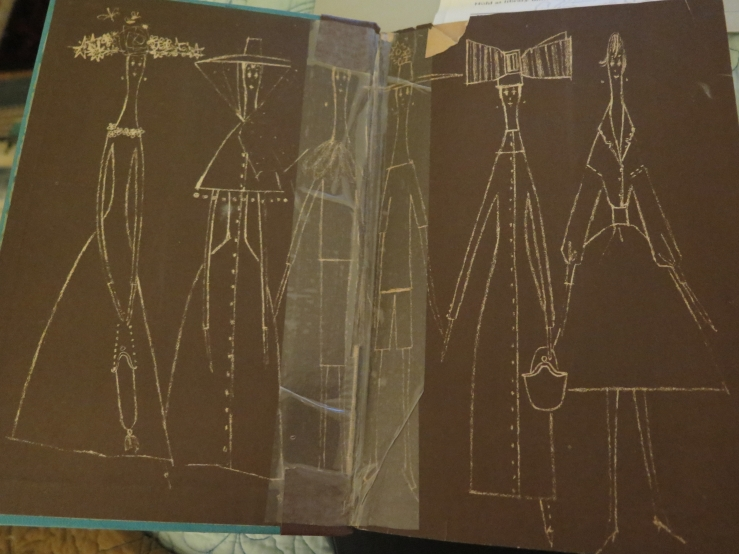 McCardell What Shall I Wear? Endpapers