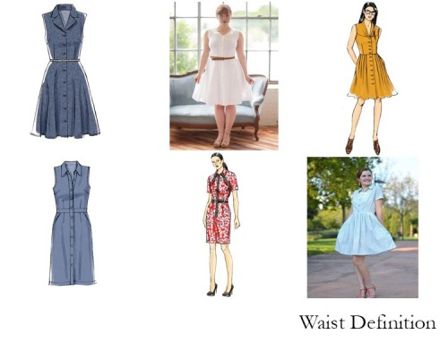 Waist-Defining Shirtwaists