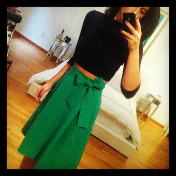 OscarPRGirl Bow Skirt